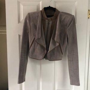 BCBGMaxazria Suede Jacket